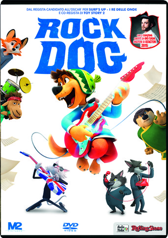 Vente DVD : Rock Dog (DVD)  - Ash Brannon