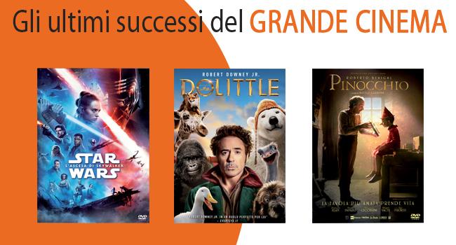 Gli ultimi successi del grande cinema